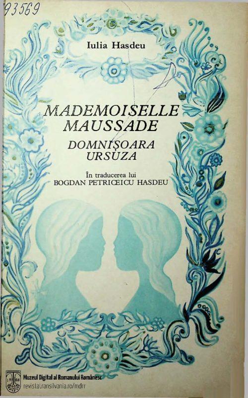 1881. Iulia Hasdeu